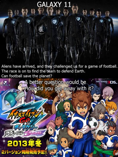 Galaxy11 rips off Inazuma 11 Go Galaxy