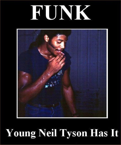 There's funk...