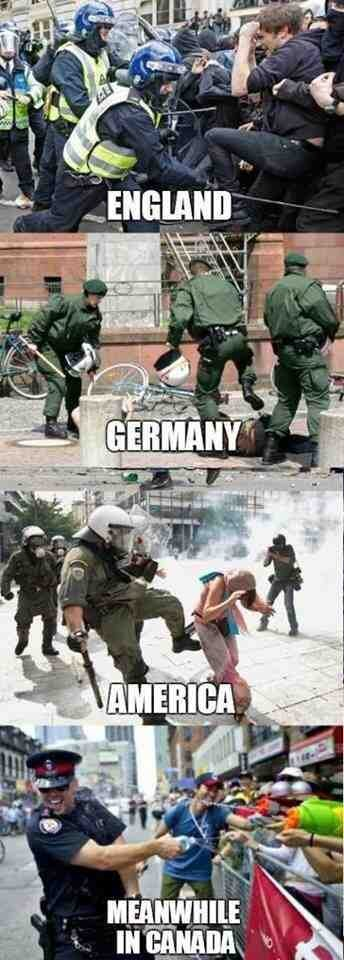 Riot Police in Various countries