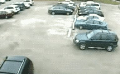 The way i park my car