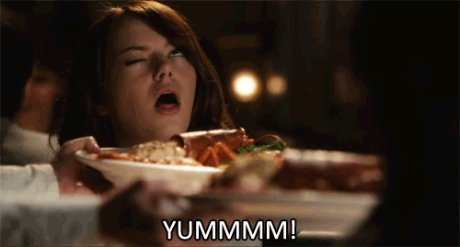 My reaction when I ate meat yesterday after being a vegetarian for 3 years.