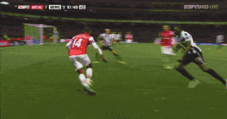 Soccer is so much more enjoyable when the players play through contact instead of flopping