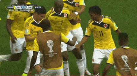And this is what a Goal means in Colombia.