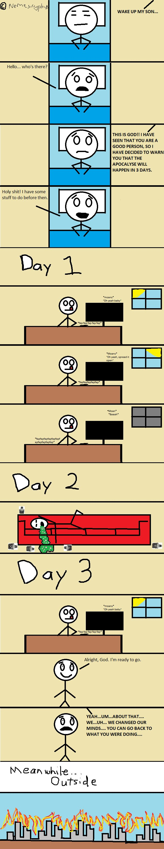 *OC Comic* #5 - 3 Days